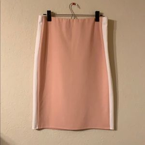 Joe B peach colored skirt size juniors XL